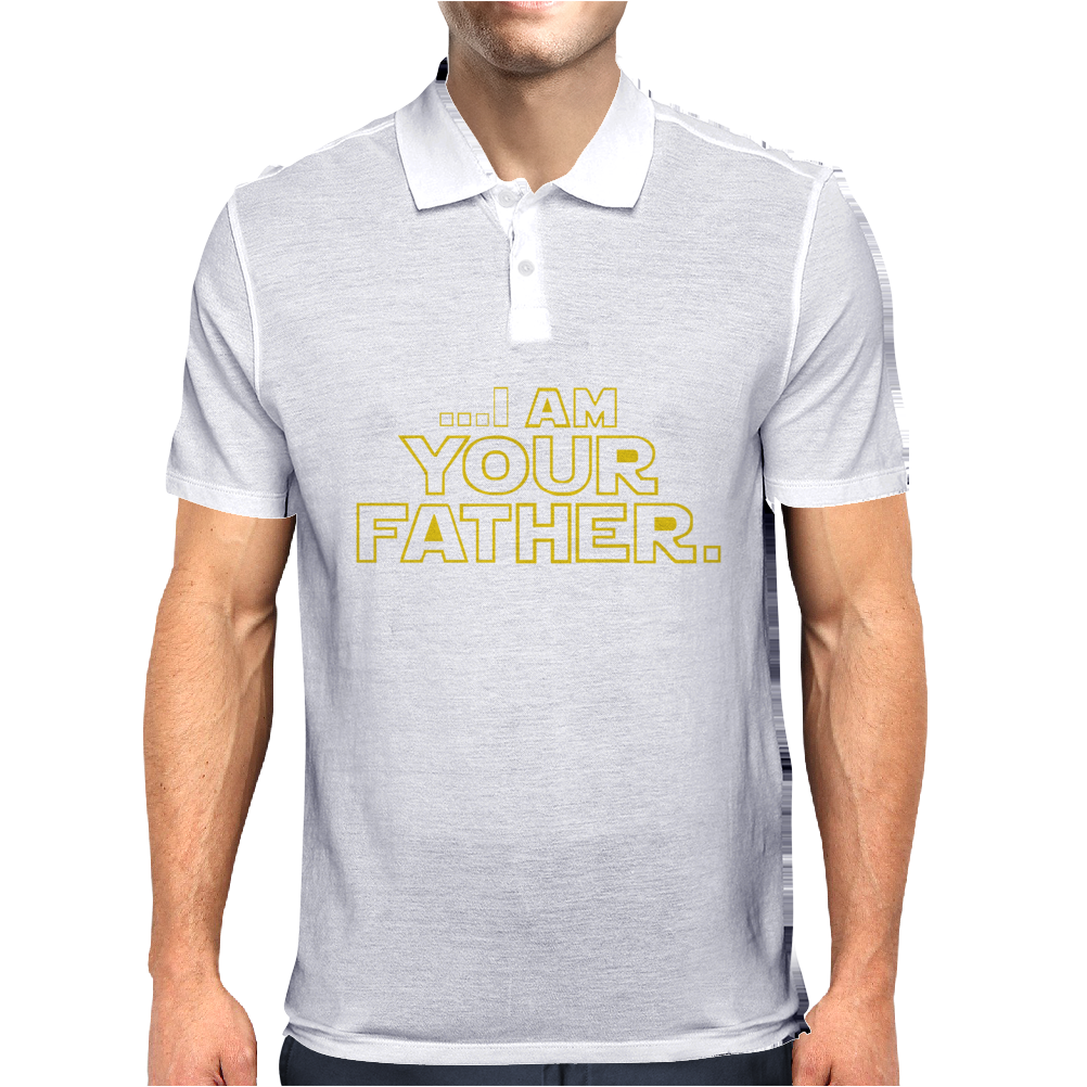I Am Your Father Funny Dad Mens Polo