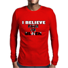 I believe in Men in Black Mens Long Sleeve T-Shirt