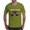 I believe in Men in Black Mens T-Shirt