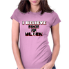 I believe in Men in Black Womens Fitted T-Shirt
