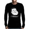 I BELIEVE Mens Long Sleeve T-Shirt