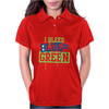 I Bleed Blue and Green Womens Polo