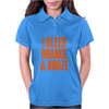I Bleed Orange and Booze Womens Polo