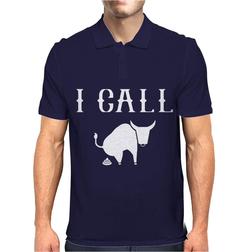 I Call Bull - Funny Mens Polo