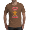 I can't feel my face when I'm with you - funny gingerbread man Mens T-Shirt