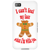 I can't feel my face when I'm with you - funny gingerbread man Phone Case