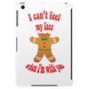 I can't feel my face when I'm with you - funny gingerbread man Tablet