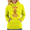 I can't feel my face when I'm with you - funny gingerbread man Womens Hoodie