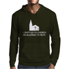 I Can't Go To Church I'm Allergic to Nuts Mens Hoodie