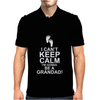 I Can't Keep Calm I'm Going To Be A Grandad Mens Polo