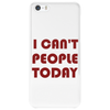 I CAN'T PEOPLE TODAY Phone Case