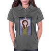 I can't sleep. by Rouble Rust Womens Polo