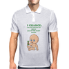 I Charge To Touch My Belly Mens Polo