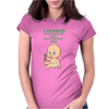 I Charge To Touch My Belly Womens Fitted T-Shirt