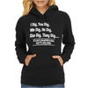 I Dig You Dig Very Deep Poem Womens Hoodie