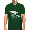 I Do All My Own Stunts Horse Mens Polo