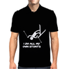I Do All My Own Stunts Ski Mens Polo