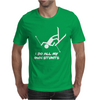 I Do All My Own Stunts Ski Mens T-Shirt