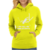 I Do All My Own Stunts SKI Womens Hoodie