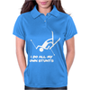 I Do All My Own Stunts SKI Womens Polo