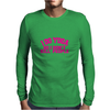 i do yoga so i don't kill people Mens Long Sleeve T-Shirt