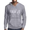 I Do Yoga To Burn Crazy Mens Hoodie