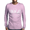 I Do Yoga To Burn Crazy Mens Long Sleeve T-Shirt