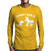 I Don't Give a Rats Mens Long Sleeve T-Shirt