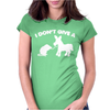 I Don't Give a Rats Womens Fitted T-Shirt