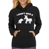 I Don't Give a Rats Womens Hoodie