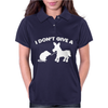 I Don't Give a Rats Womens Polo