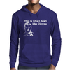 I dont like Clowns tFunny Mens Hoodie