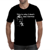 I dont like Clowns tFunny Mens T-Shirt