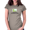 I don't like Snakes Because they don't have any feet And I'm totally Lack Toes Intollerant Womens Fitted T-Shirt