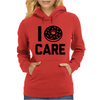 I Donut Care Womens Hoodie