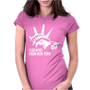 I Escaped From New York Womens Fitted T-Shirt