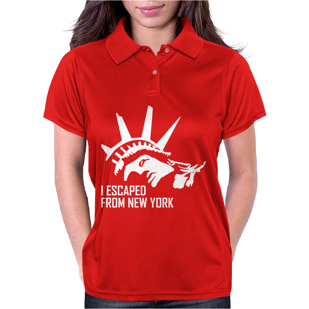 I Escaped From New York Womens Polo
