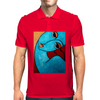 I FEEL BLUE  PICASSO Mens Polo