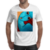 I FEEL BLUE  PICASSO Mens T-Shirt