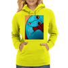 I FEEL BLUE  PICASSO Womens Hoodie