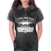 I Feel the Need The Need For Speed Womens Polo
