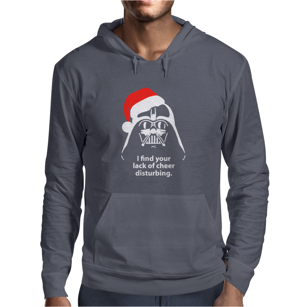 I Find Your Lack Of Cheer Disturbing Mens Hoodie