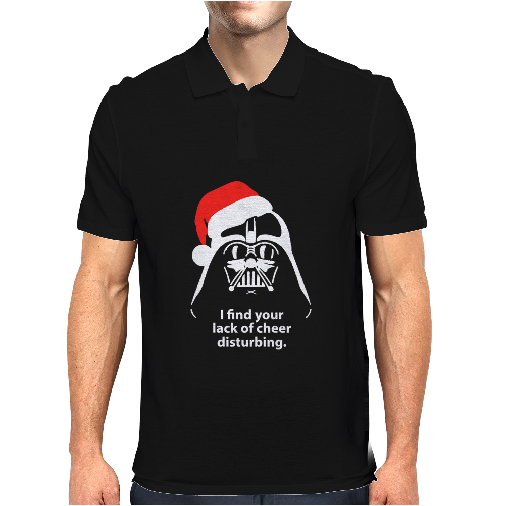 I Find Your Lack Of Cheer Disturbing Mens Polo