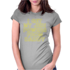 I Get My Jedi Powers From Daddy Womens Fitted T-Shirt