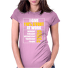 I Give 110 Percent Effort At Work Womens Fitted T-Shirt