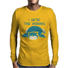 I Hate The Mornings Mens Long Sleeve T-Shirt