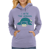 I Hate The Mornings Womens Hoodie