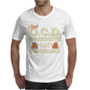 I Have O.C.D Obsessive Cat Disorder Mens T-Shirt