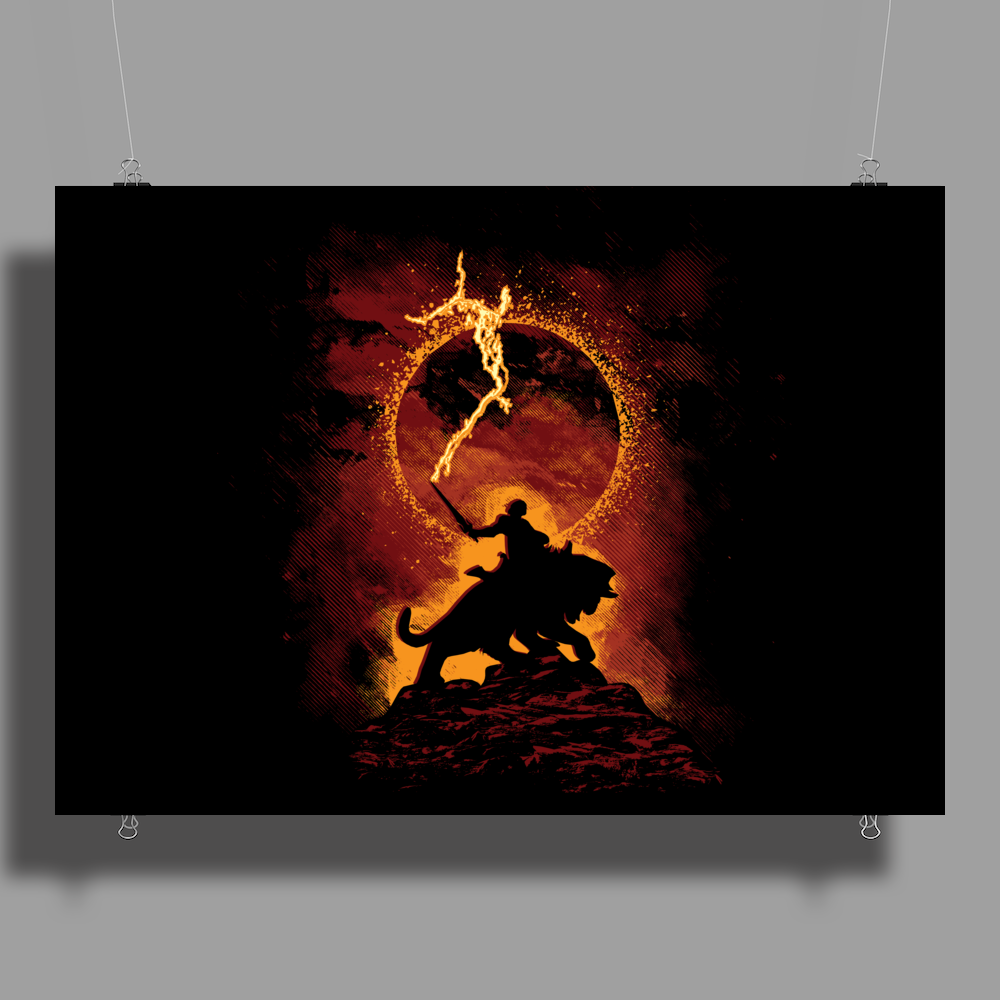 I Have The Power! Poster Print (Landscape)