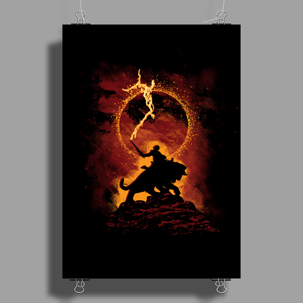 I Have The Power! Poster Print (Portrait)